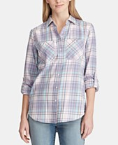 f52f346336e5c2 Plaid Shirts For Women: Shop Plaid Shirts For Women - Macy's