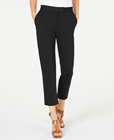 MICHAEL Michael Kors Petite Slim-Fit Trousers