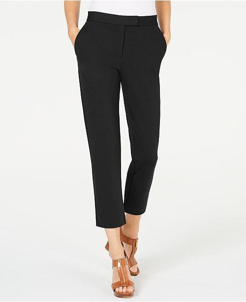 Michael Kors Petite Slim-Fit Trousers