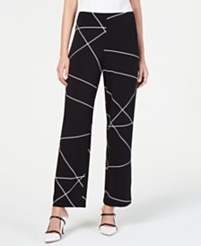 Alfani Printed Pants, Created for Macy's