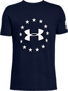 Big Boys Freedom Logo T-Shirt