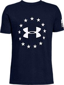 Under Armour Big Boys Freedom Logo T-Shirt