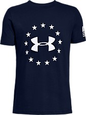 1be9ebb5 Under Armour Big Boys Freedom Logo T-Shirt. Quickview. 2 colors
