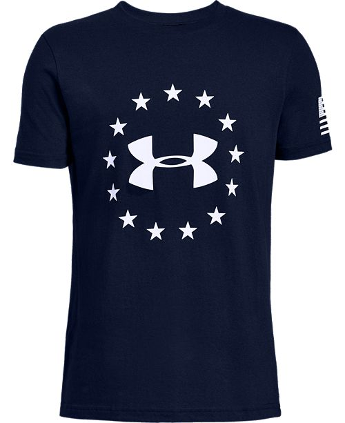 Under Armour Big Boys Freedom Logo T-Shirt