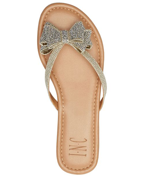 92be5f8cb ... INC International Concepts I.N.C. Women's Mabae Bow Flat Sandals,  Created for Macy's ...