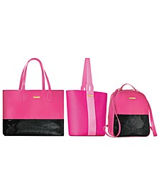 Choose your Complimentary bag with any large spray purchase from the Juicy Couture fragrance collection