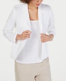 Eileen Fisher Organic Cotton Blazer, Regular & Petite