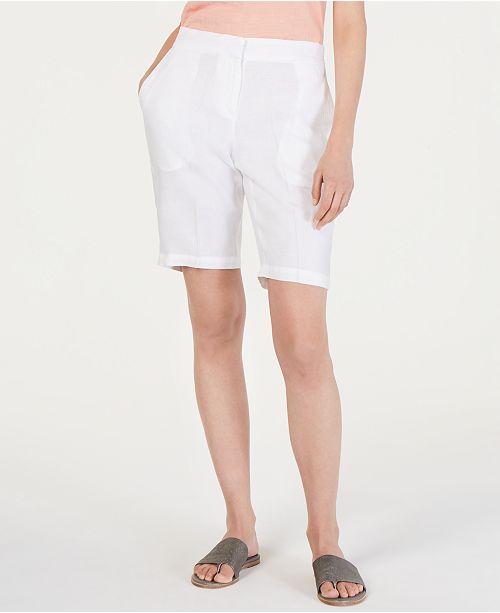 Eileen Fisher Organic Cotton Walking Shorts