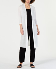 Eileen Fisher Knit Duster Cardigan