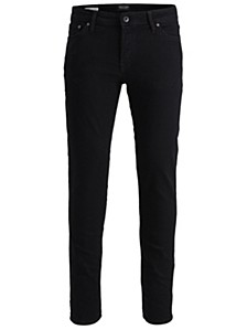 Men's Slim-Straight Fit Classic Black Tim Jeans