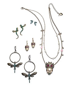 Betsey Johnson Wild Things Jewelry Collection
