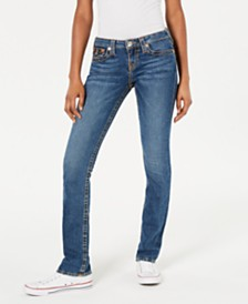 True Religion Billie Straight-Leg Jeans