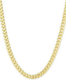 "Franco Link 24"" Chain Necklace (3.9mm) in 10k Gold"