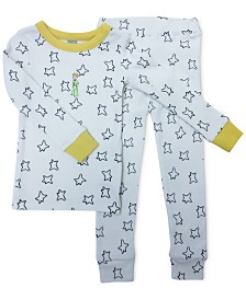 finn + emma Little Prince Baby & Toddler Girls & Boys Organic Cotton 2-Pc. Pajamas Set