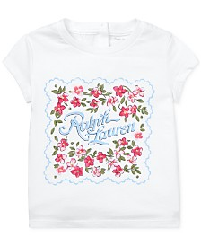 Polo Ralph Lauren Baby Girls Cotton Jersey Graphic T-Shirt