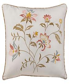 """Nostalgia Home Caroline 16"""" Square Decorative Pillow"""