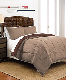 Martex Reversible Twin Comforter Set