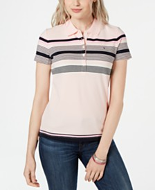 Tommy Hilfiger Multi-Stripe Polo Shirt