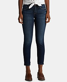 Silver Jeans Co. Avery Cropped Skinny Jeans