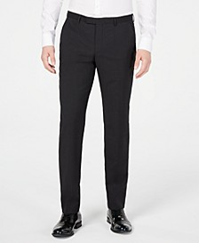 Men's Slim-Fit Stepweave Suit Pants
