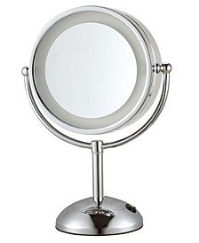 Glimmer Double Face Round 3x Makeup Mirror