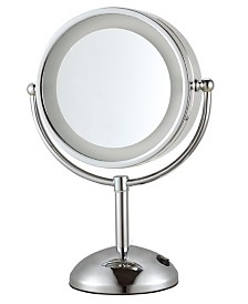 Nameeks Glimmer Double Face Round 3x Makeup Mirror
