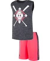 523d9f7e73468 Under Armour Little Boys 2-Pc. Baseball Anthem Tank Top & Shorts Set
