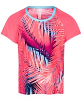 ad11d1c73a Ideology Big Girls Palm-Print Rash Guard, Created for Macy's