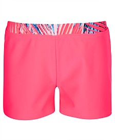 Ideology Big Girls Palm-Waist Boy Shorts, Created for Macy's
