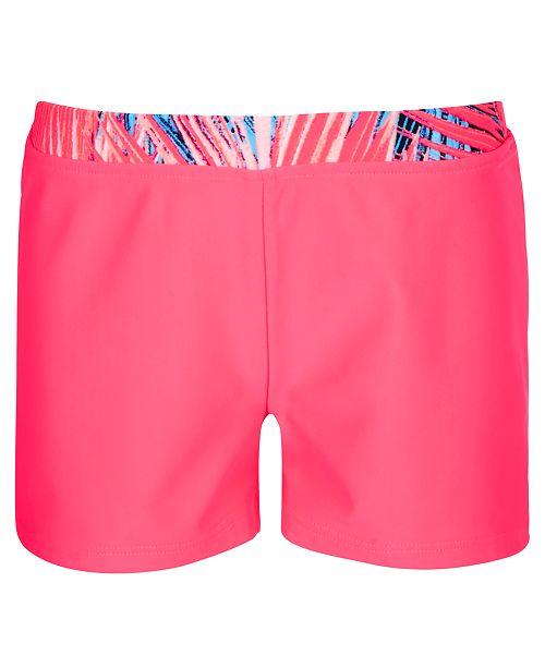 Ideology Big Girls Palm-Waist Boy Shorts, Created for Macy's