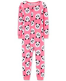 Carter's Toddler Girls Cotton Panda Pajamas