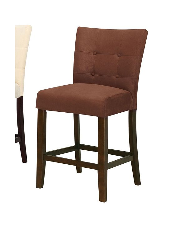 Acme Furniture Baldwin Counter Height Chair (Set of 2)