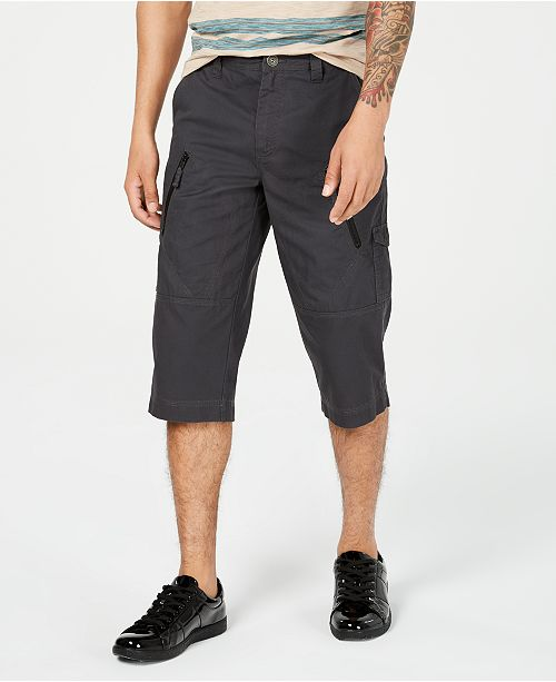 "INC International Concepts I.N.C. Men's 18"" Michael Messenger Shorts, Created for Macy's"