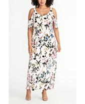 cd76c513809cc5 RACHEL Rachel Roy Allover Floral Printed Sequin Midi Dress