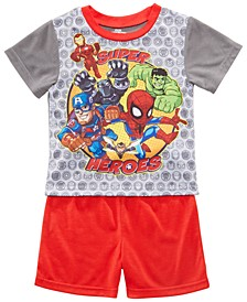 Toddler Boys 2-Pc. Marvel's Avengers Graphic Pajamas
