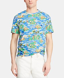 Polo Ralph Lauren Men's Big & Tall Classic Fit Luau Pocket T-Shirt