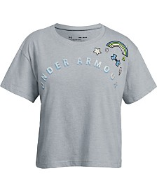 Under Armour Big Girls Patch T-Shirt