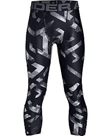 Under Armour Boys' HeatGear® Armour ¾ Printed Leggings