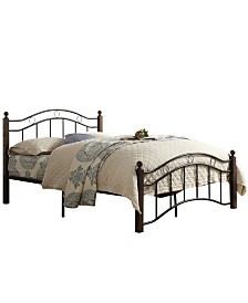 Aurora Metal Platform Bed, Full