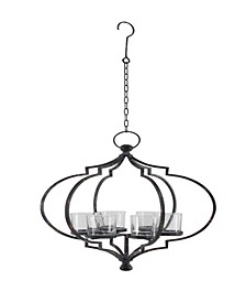Contemporary Iron Hanging Candle Holder
