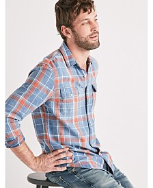 Lucky Brand Men's Axe Indigo Shirt
