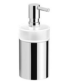 Boutique Hotel Round Modern Soap Dispenser