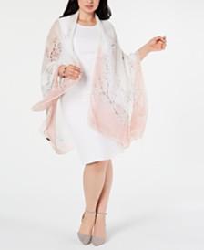 Cejon Cherry Blossom Oversized Wrap