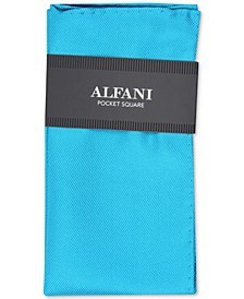 Men's Solid Twill Silk Pocket Square, Created for Macy's