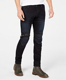 G-Star RAW Men's Skinny Moto Jeans