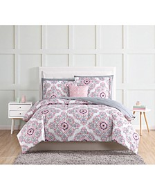 Shirley 10-Pc. Queen Bed in a Bag