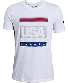 Under Armour Big Boys USA T-Shirt