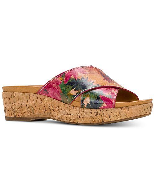 Patricia Nash Luca Wedge Sandals