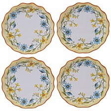 Torino Canape Plate, Set of 4