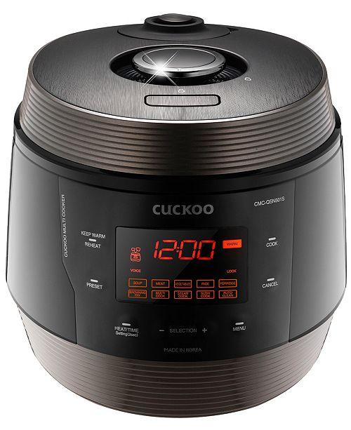 Cuckoo 8-in-1 Multi Pressure Cooker 5-Qt., Superior
